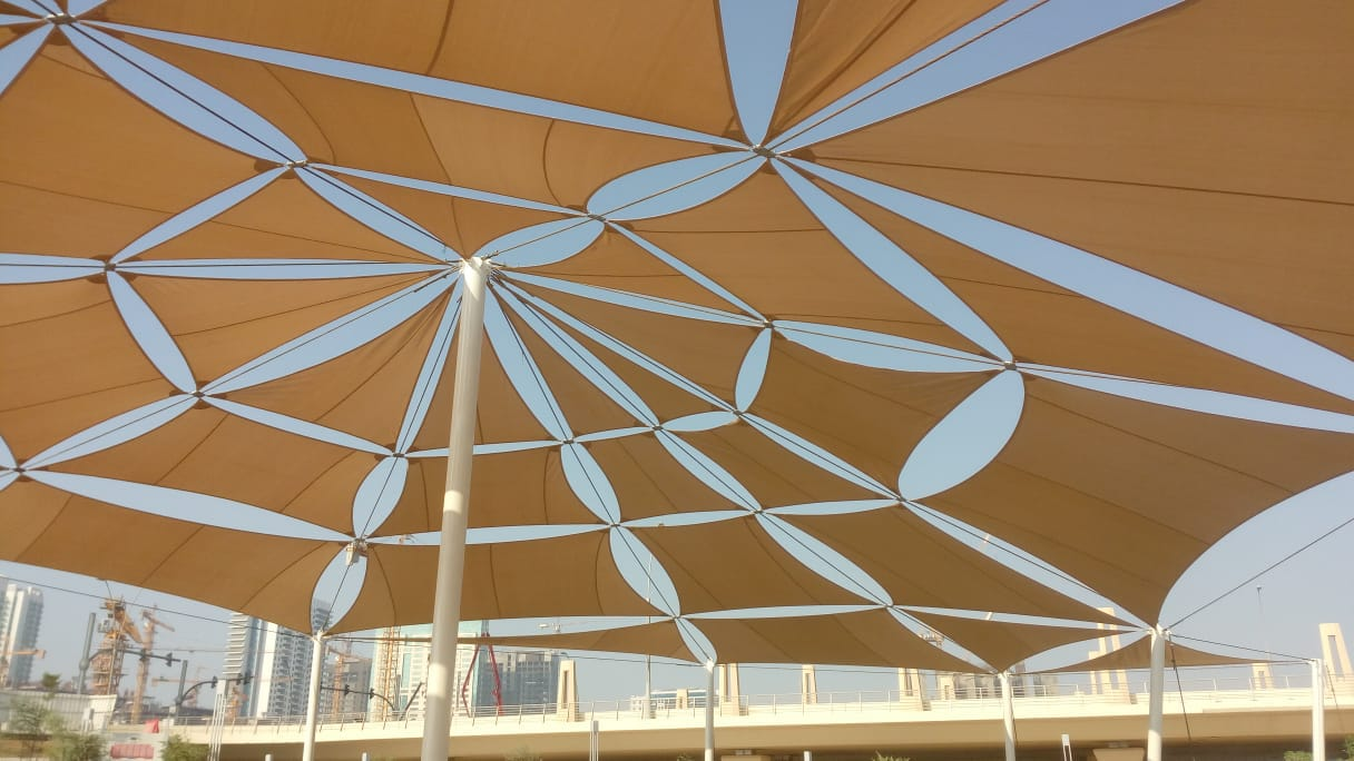 tensile shades supplier UAE