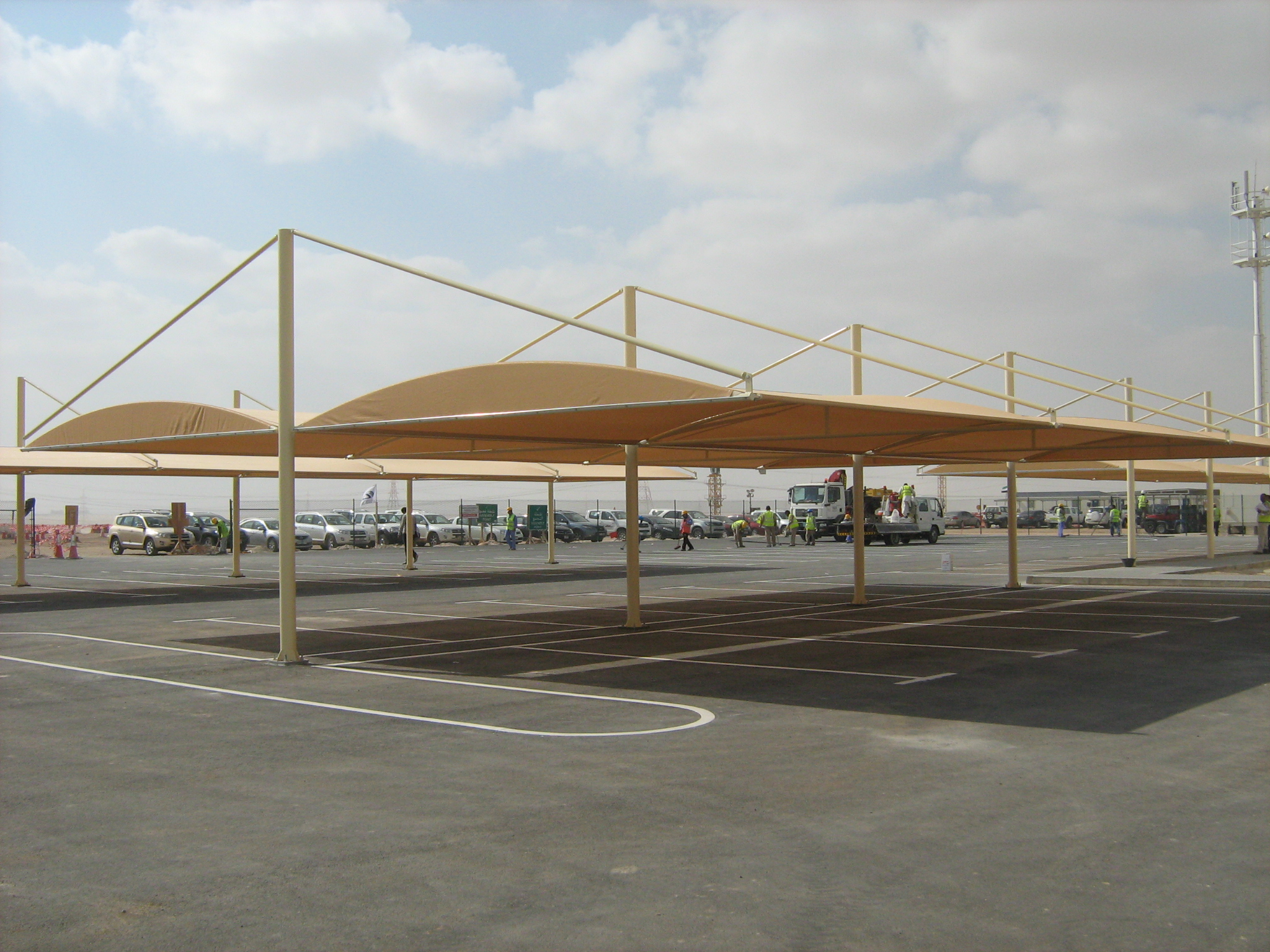 Car parking shades supplier in UAE